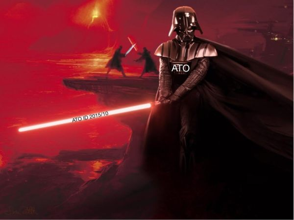 Darth from the ATO