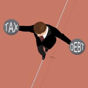 Tax cuts v debt management